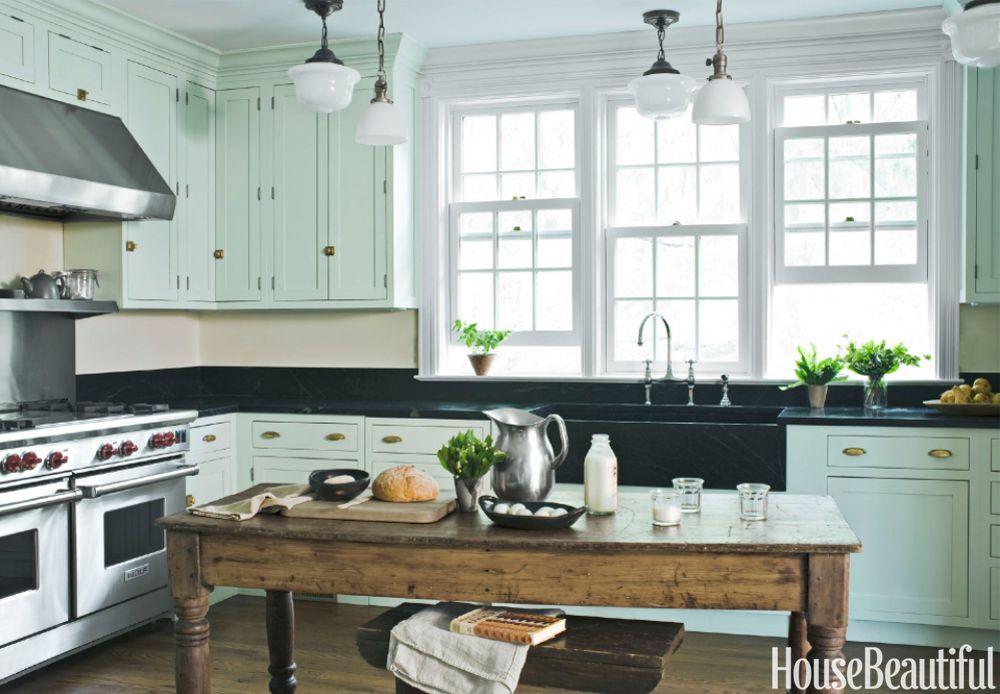 Kitchen color colors mint green kitchen DAQTBPQ