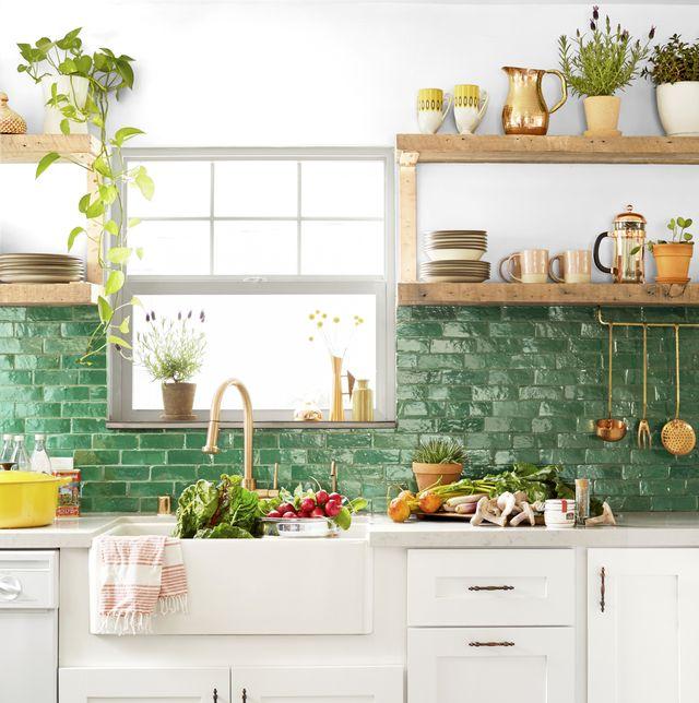 20 best ideas for open shelf kitchens - Open Shelving Kitchen Phot