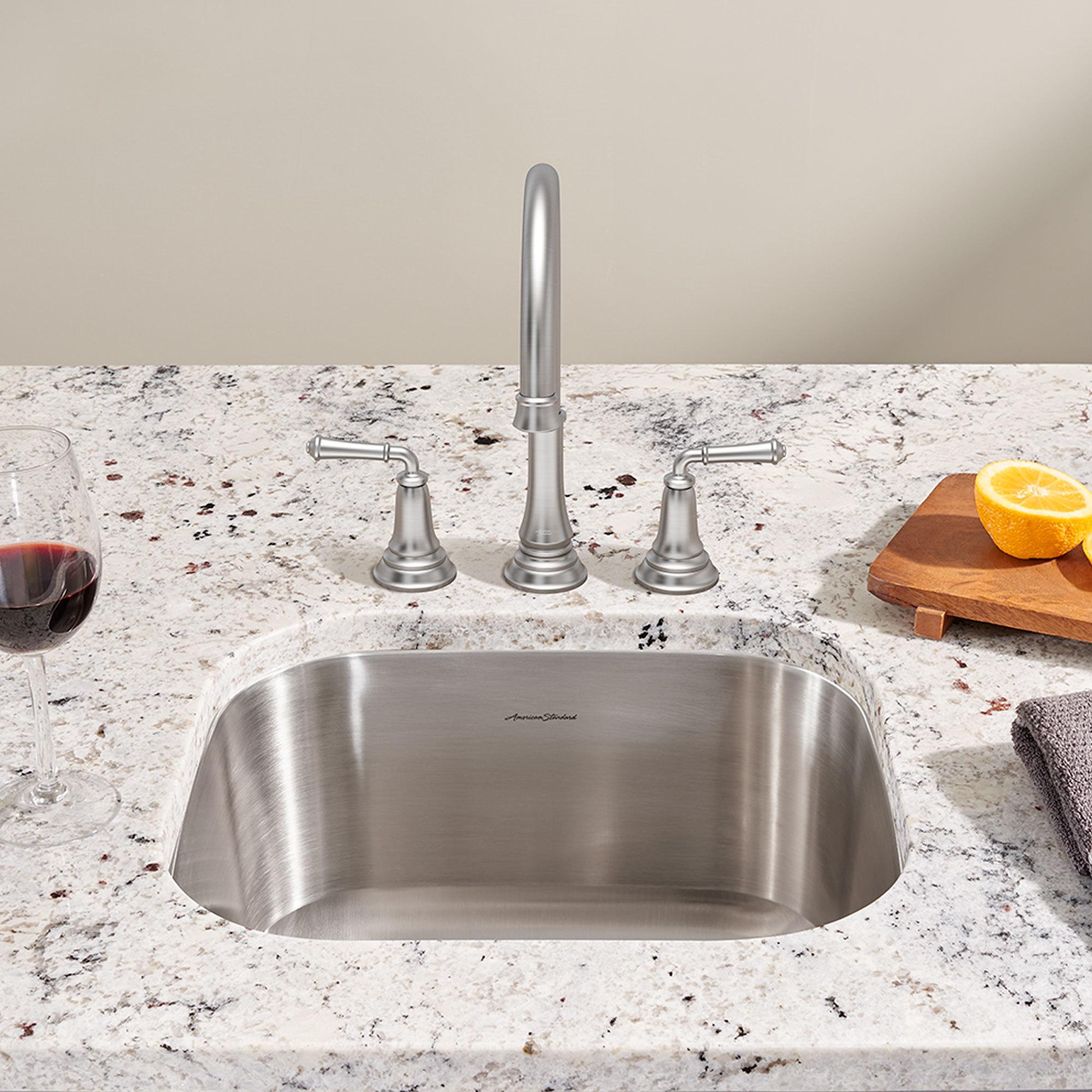 Kitchen Sinks Portsmouth Undermount 18x16 Single Basin Sink DGSQVNU