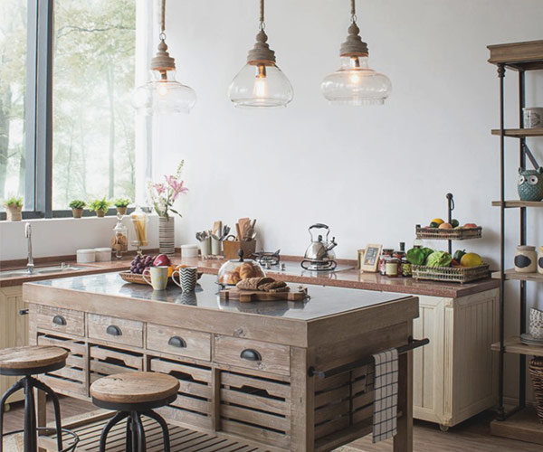 Ideas for pendant lights for kitchen islands and more - Shades of Lig
