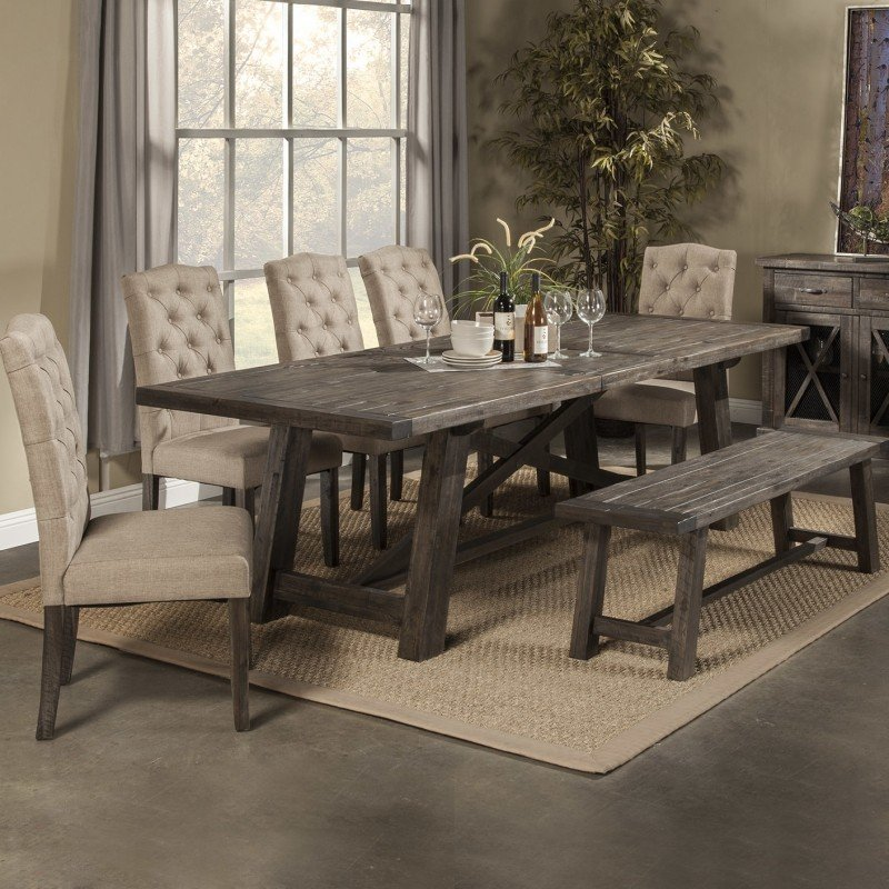 Kitchen table sets Newberry 7-piece dining table set YUQSYUM