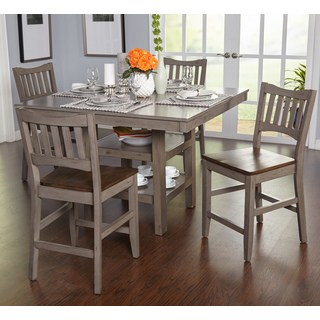 kitchen table sets simple living simon counter height 5-piece dining room set NRDHFAI