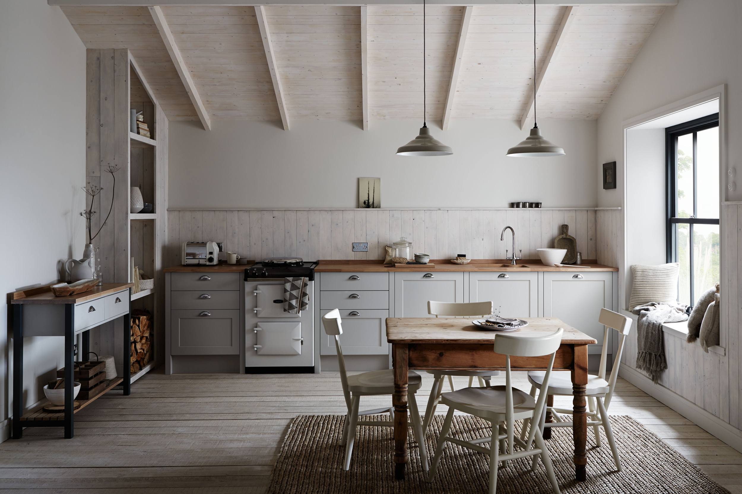 Kitchen trends Emily Henderson Design Trends 2018 Kitchen without wall units 06 HUCASGN