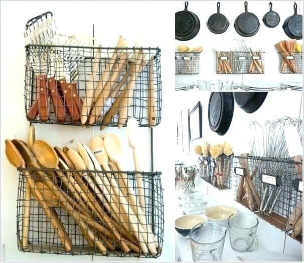 Kitchen utensil storage utensils Practical for utensil holder ideas.