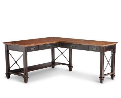 Hartford l-desk open l-desk - furniture range QRPMACO