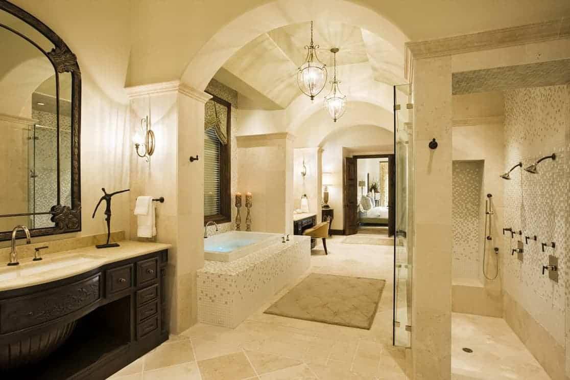 large beautiful bathroom WWTTBXU
