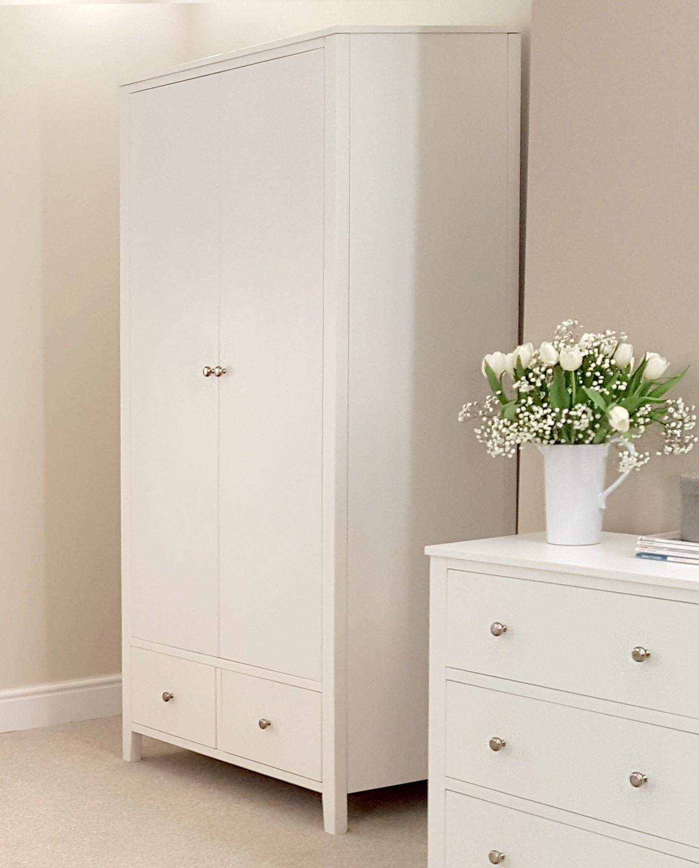 large brooklyn white wardrobe ZMXSJGP