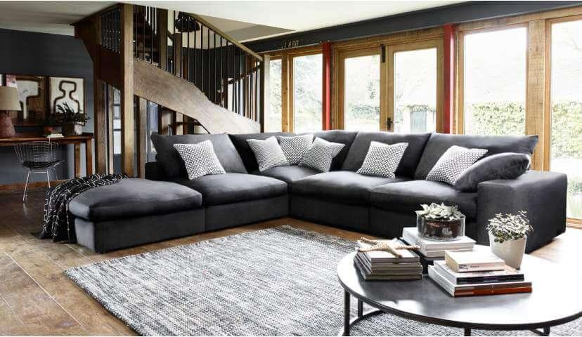 large corner sofas haymarket extra deep large corner sofa ILUWUSP