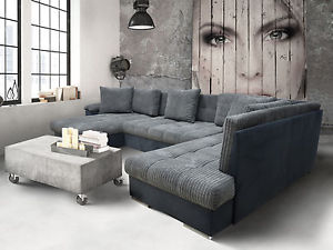 large corner sofas image is loading chaise-corner sofa-bed group-eric-large-bed linen- ZMEIZPJ