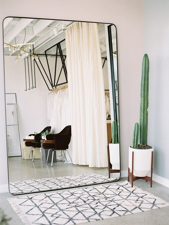 large wall mirror oversized wall mirror, cute cactus and a Moroccan rug YRIJJPB