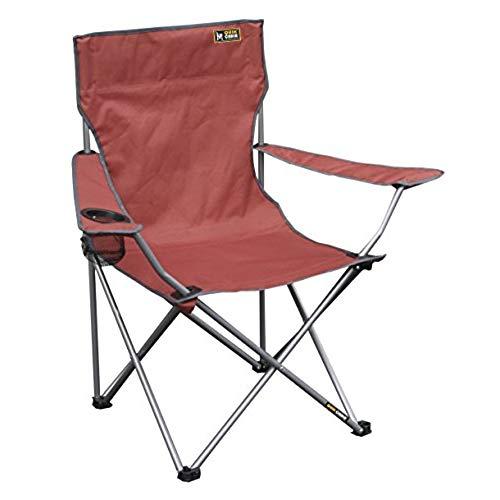 lawn chair quik chair folding quad camping chair - bright red RMVMMIV