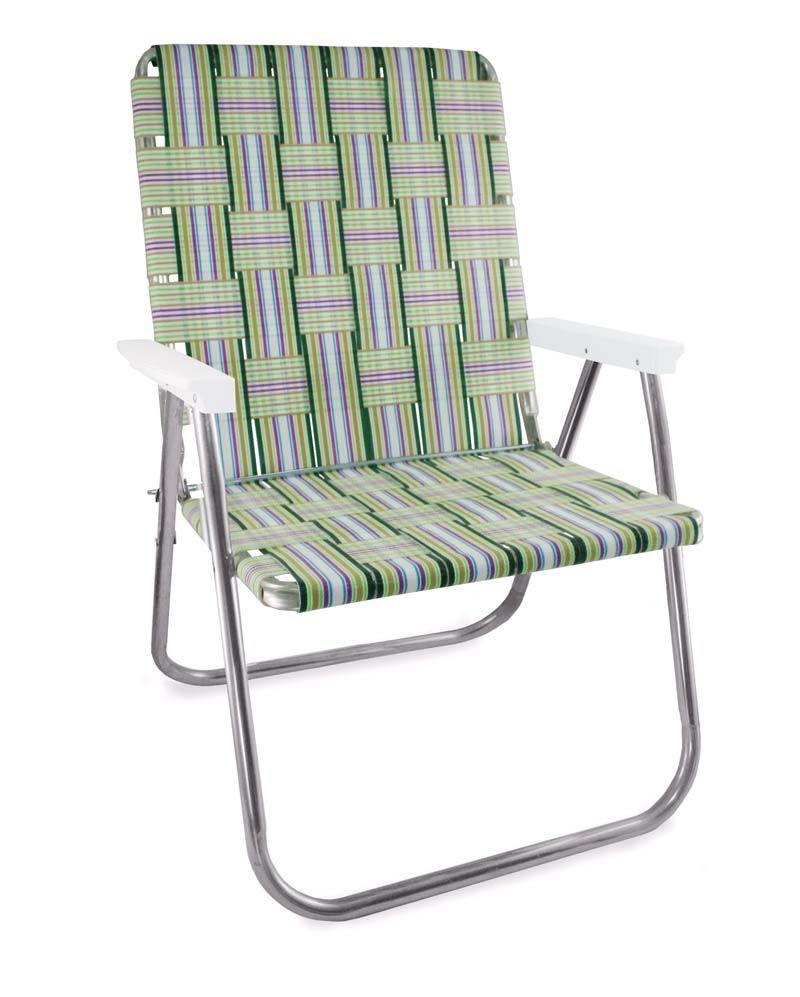 Garden chair USA Spring Fling folding chair made of aluminum webbing Magnum YKOOCMV