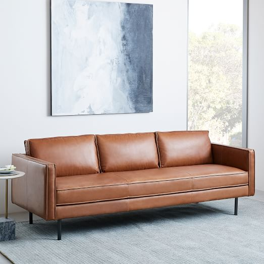Leather furniture Axel leather sofa (89 EMBYMLJ