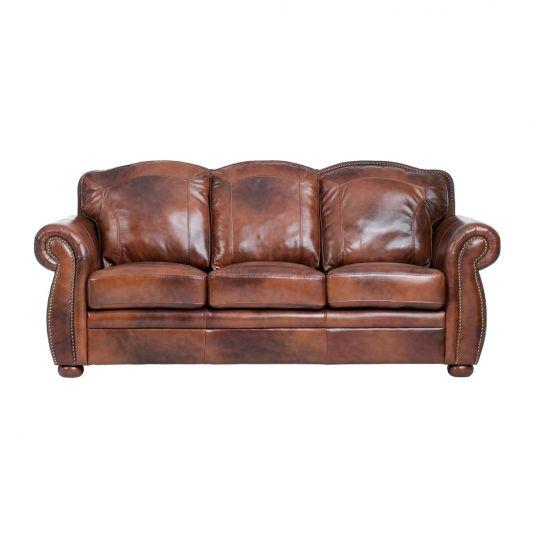 Leather furniture Terraso sofa in chocolate 100% leather |  jeromeu0027s furniture TCLFEUR