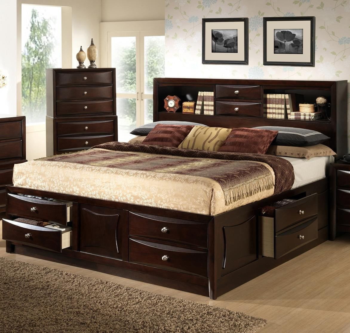 Lifestyle Toddqueen bookcase bed with storage space RWVDCKO
