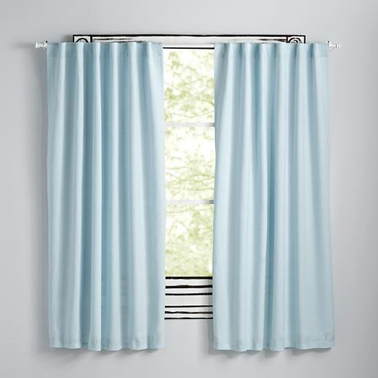 light blue curtains fresh linen curtains (light blue) |  the land of nodding ADXWCRX