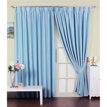 light blue curtains funky baby blue beautiful cheap printed curtains made of organic cotton UTUOJIEO