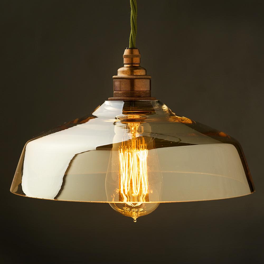 Light shades coffee glass light shade E27 pendant lamp qndlubg TRZKYEF