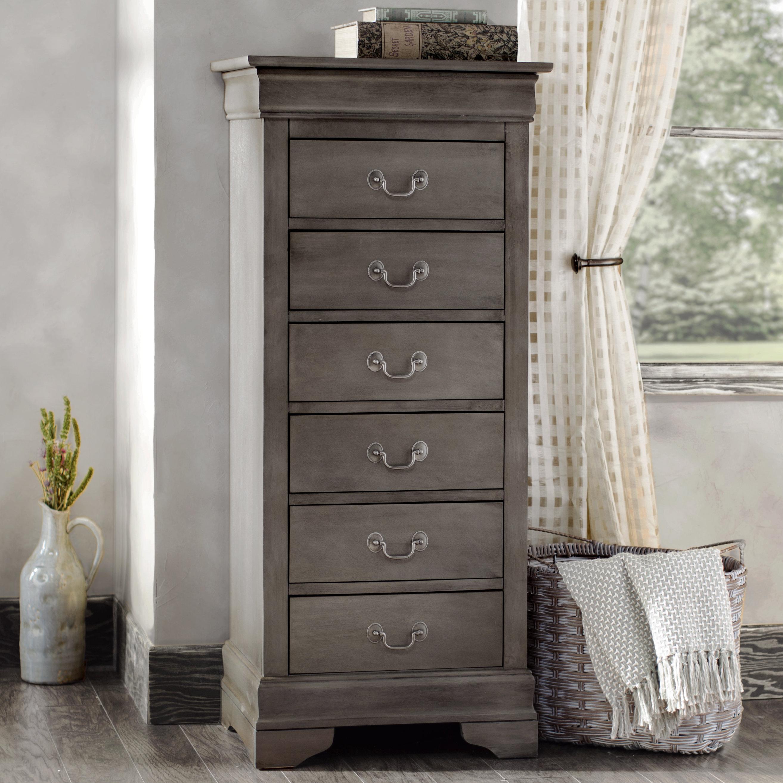 Lingerie Dresser Lerche Manor Lisle Lingerie Dresser with 6 Drawers & Reviews |  Wayfair MWREAIZ