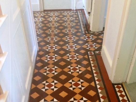Linoleum floor OWZJMGT