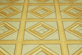 Wax deposits on linoleum floors can make linoleum floors appear dull.  EPIWBIN