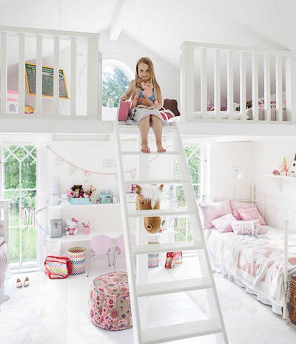 Bedroom ideas for little girls    Bedroom is designed for two little girls ORTSGMR designed