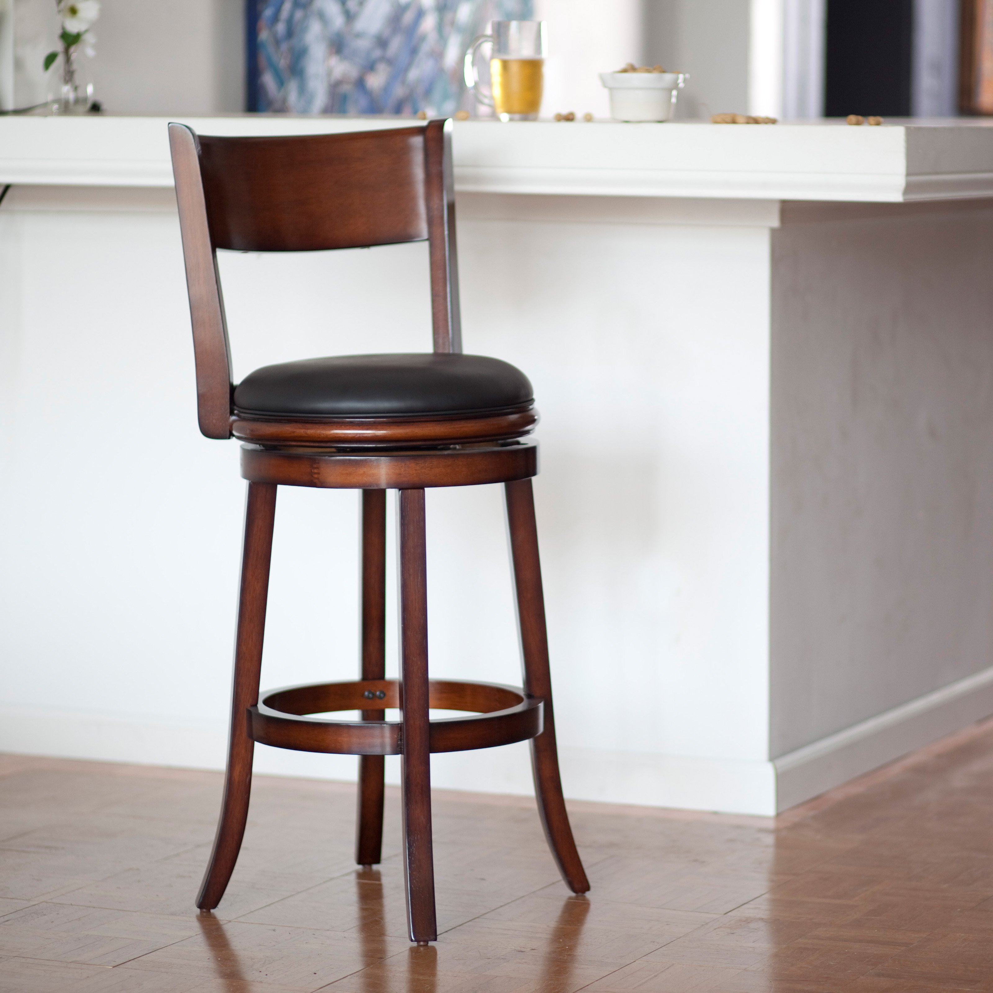 Living outstanding wooden bar stools with backrests 19 kitchen counter ideas NCSKLHK