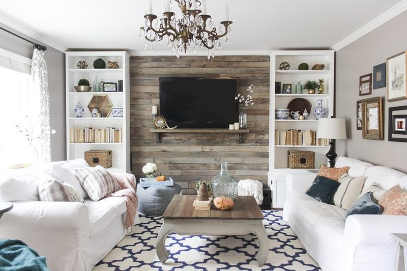 Living room design 12 backgrounds to make your assembled TV more interesting.  posted GLODNZQ