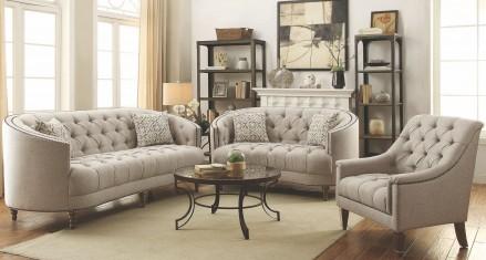 Living room set Avonlea stone gray living room set FCXBKJI