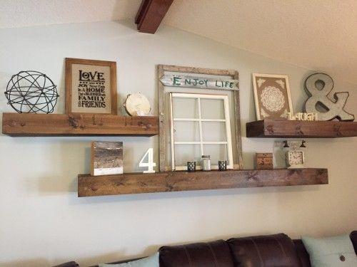 Living room shelves floating shelves |  pinterest |  empty frames, empty and minimal VSYRMCE