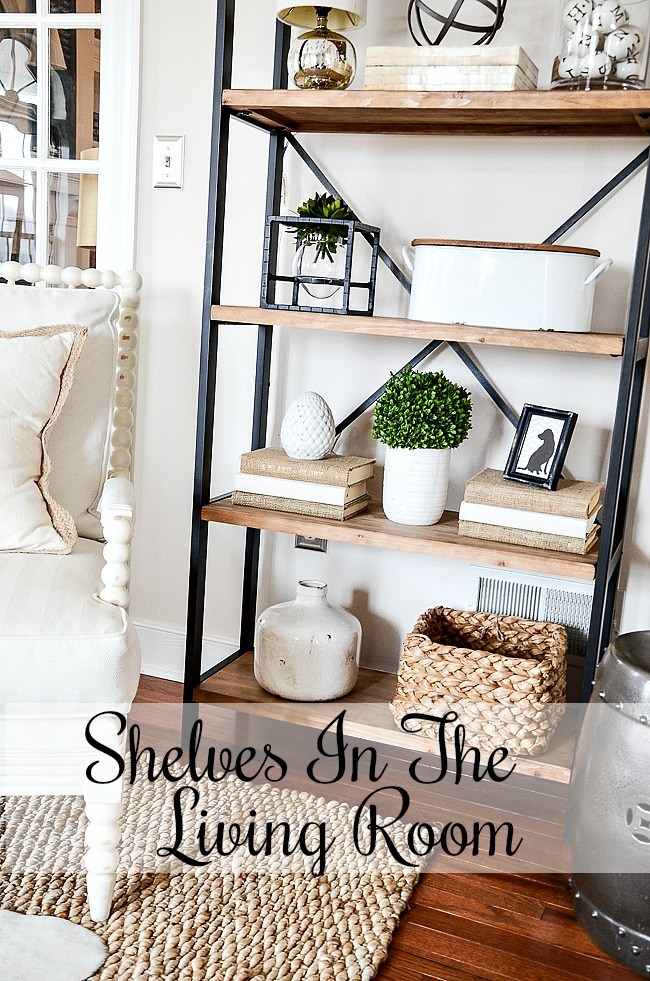 Living room shelves I have to admit that I'm a huge fan of open shelves.  VNVLAEA.  to open