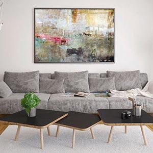Living room wall art Best seller canvas art MAAKPJD