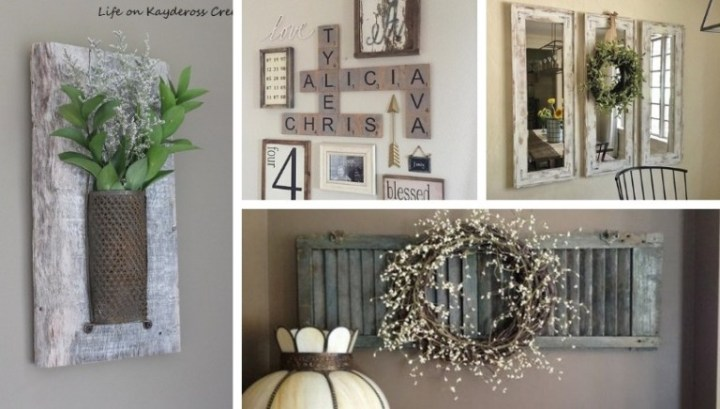 Amazing DIY rustic wall decor ideas to add charm to your home    My.