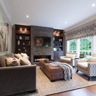 Living room with fireplace design and ideas that will all warm you