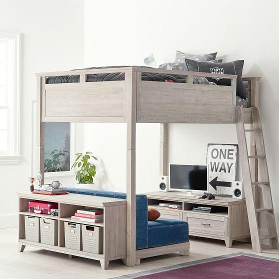 Loft Beds Hampton Convertible Loft Bed NNLCMUD