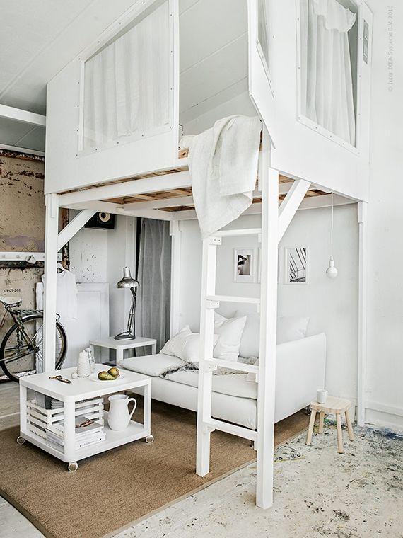 Loft beds Loft bed above ikea livet hemma UECNABL