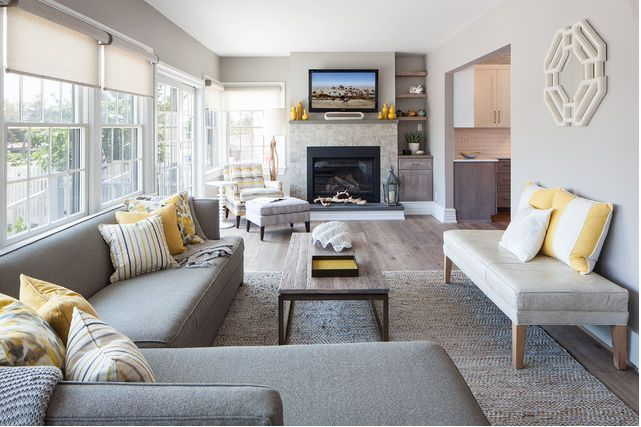 Layout living room with fireplace design and ideas that will warm you