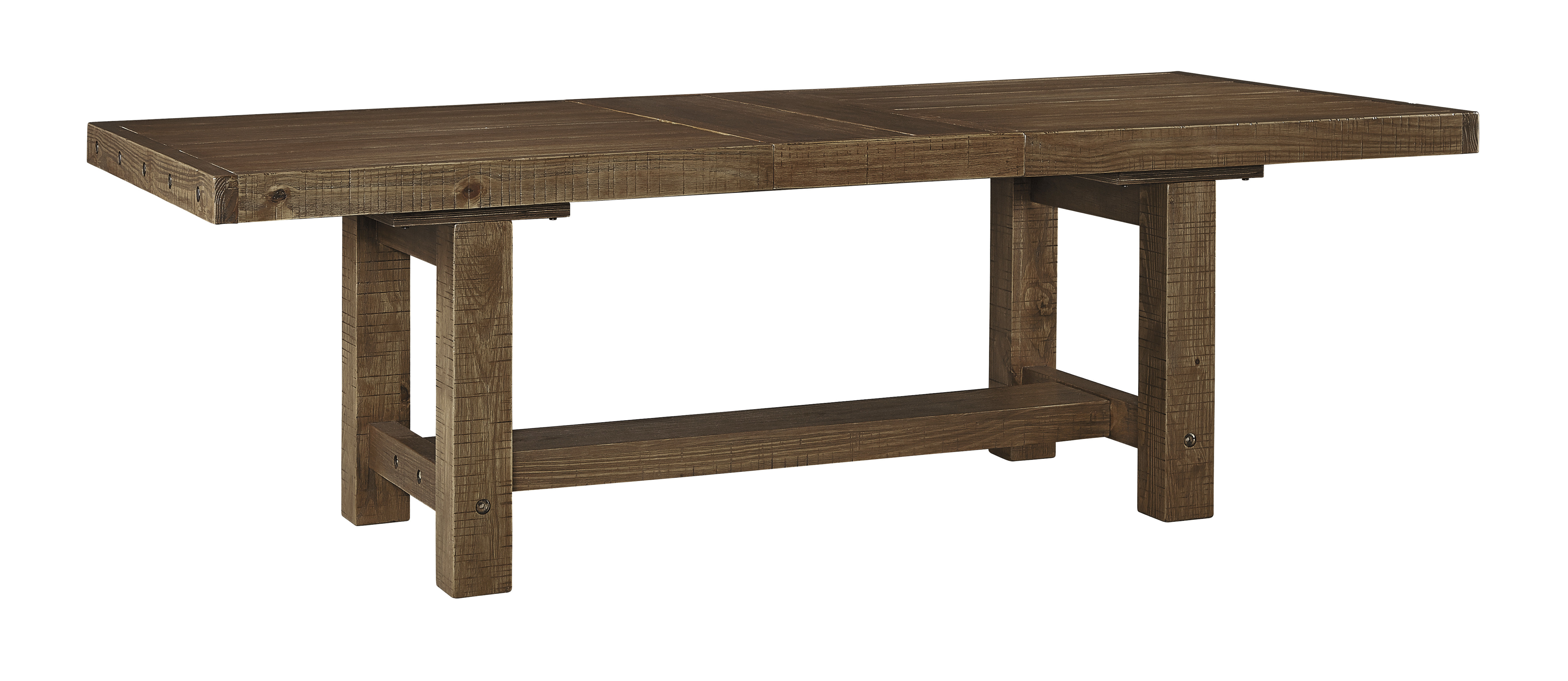 loon peak etolin extendable dining table & reviews |  Wayfair YBDTXFU