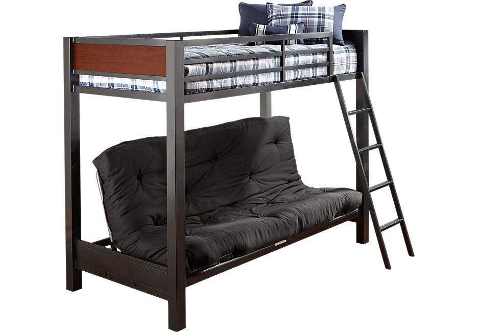 louie gray twin futon loft bed - bunk beds / loft beds colors SWNHHFX