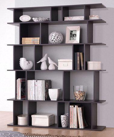 love this dark brown tilson modern bookcase from baxton studio on #zulily!  EYMNUSA