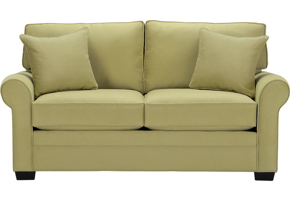 Loveseat Sofa Bed Cindy Crawford Home Bellingham Wasabi Sleeper Loveseat - Sleeper Loveseats (Green) LHSXZKA