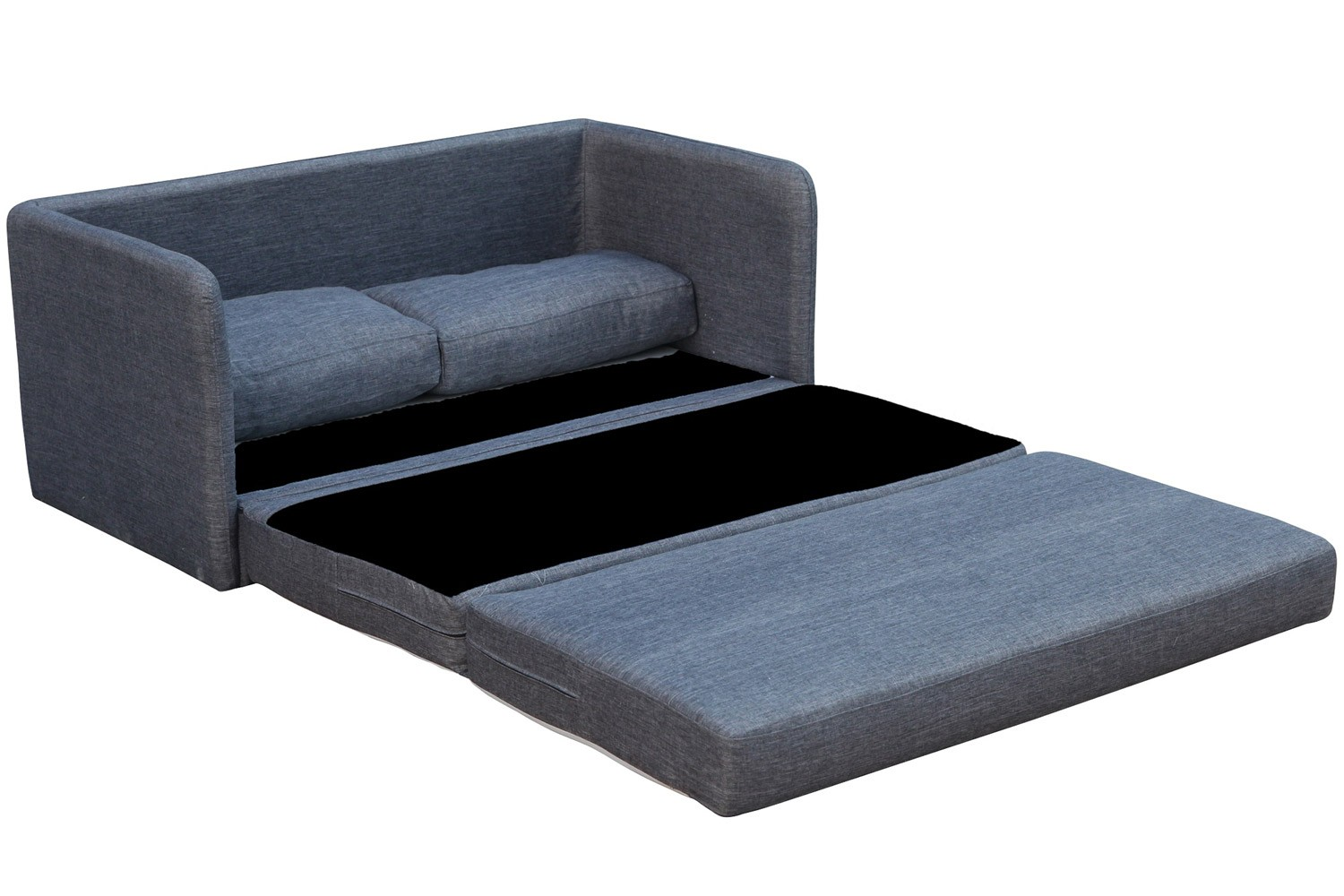 Two-seater sofa bed phillip gray space-saving two-seater sofa bed ESKBGCT
