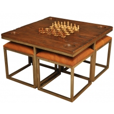 low game table with four stools KBQNZOD