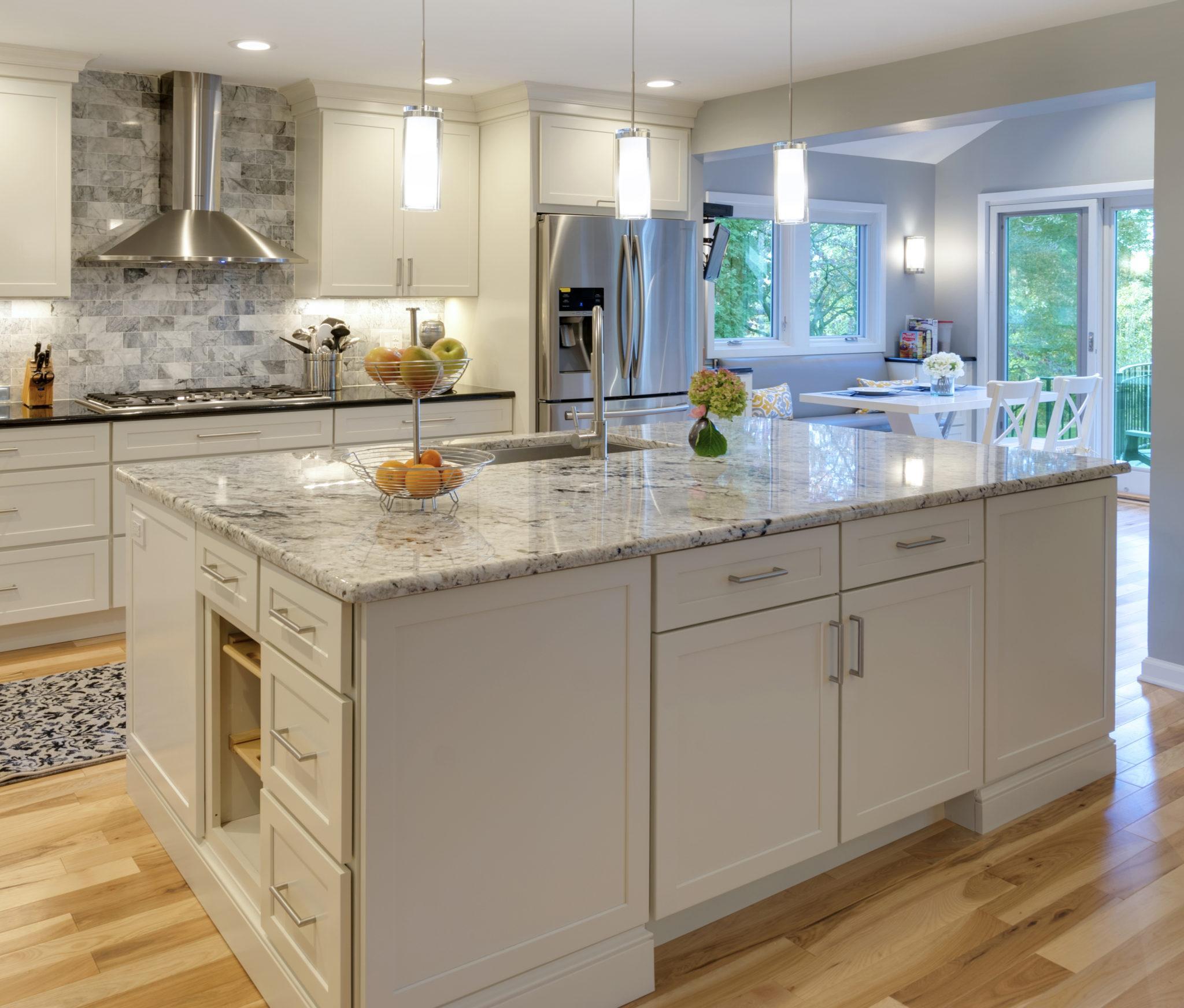 Main line kitchen design - milestones from 2017 to 2018. EOZHTPR