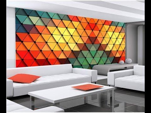 Make Modern Decorative 3D Wall Panels Design Ideas 2019 KWLCDWICD