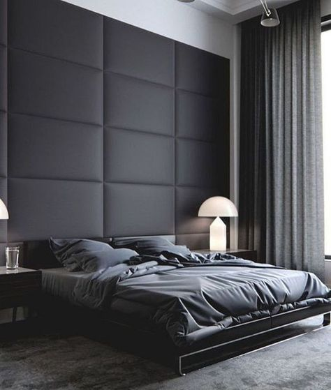 30+ Contemporary Masculine Bedroom Ideas For Men    Home decor.
