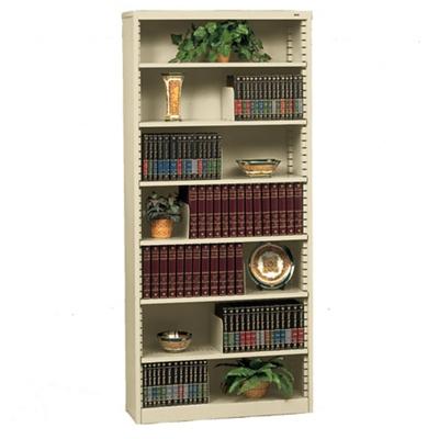 Metal bookcase heavy steel bookcase with seven shelves, 32626 ZVVBXTV