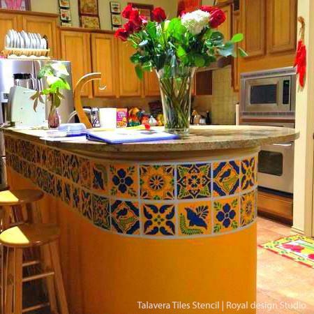 mexican furniture ... diy mexican talavera tile furniture templates - royal design studio ... XCIQHWV