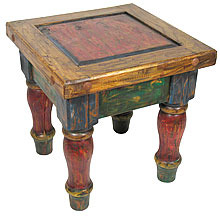 mexican furniture lacquered wood mexican table rustic lacquered furniture EGCCLQO