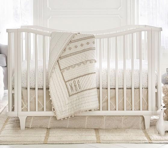 Micah metallic baby bedding SIUJSTZ
